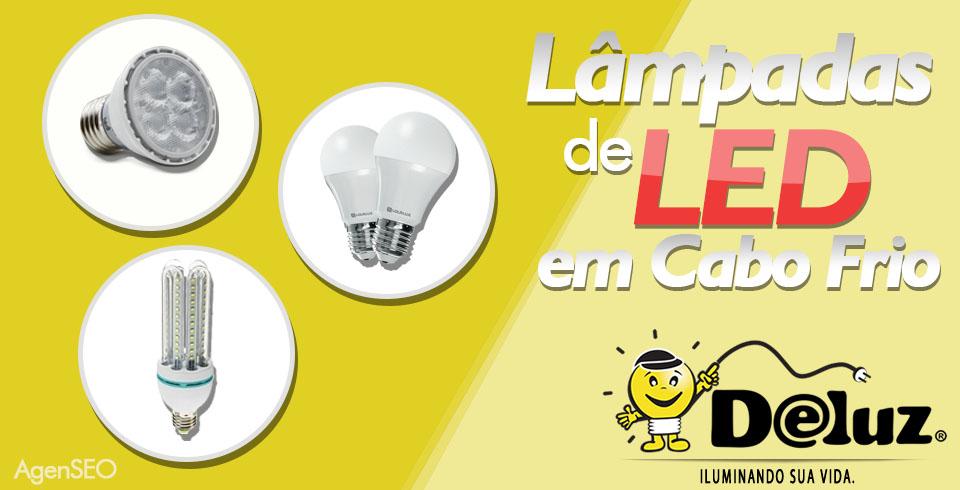 Lâmpadas de LED em Cabo Frio